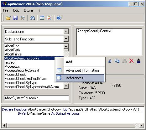 Screenshot für ApiViewer